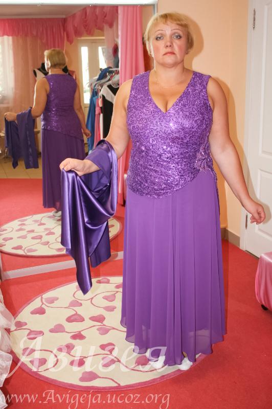 Платья для возрастных полных женщин